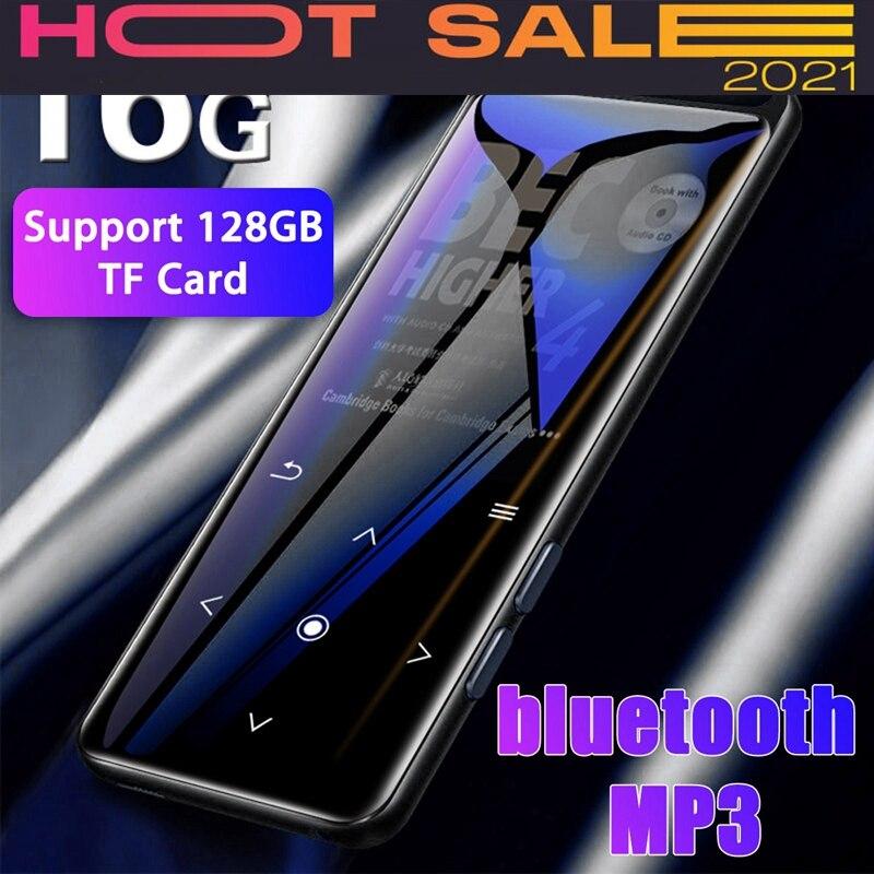 16gb Bluetooth Mp3 Player Earphones Hifi Fm Radio Mini Usb Mp3 Sports Mp 4 Hifi Portable Music Players Voice Recording Recorder