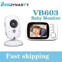 цена на VB603 Wireless Video Color Baby Monitor 3.2 Inch High Resolution Night Vision Temperature Monitoring Baby Nanny Security Camera