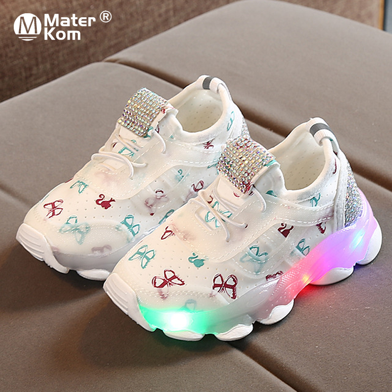 Size 21-30 Children's Led Shoes Kids Glowing Sneakers For Kids Luminous Sneakers For Boys Girls Sneakers With Luminous Sole