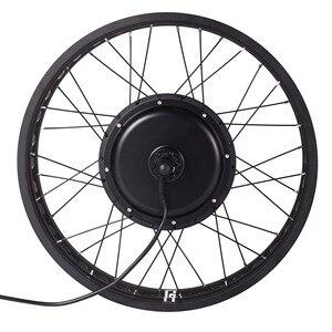 "Image 2 - 36/48V yağ e bisiklet dönüşüm kiti 20 ""/24""/26 ""kar elektrikli bisiklet SW900 ekran 250/350/500/750/1000/1500W Hub Motor"