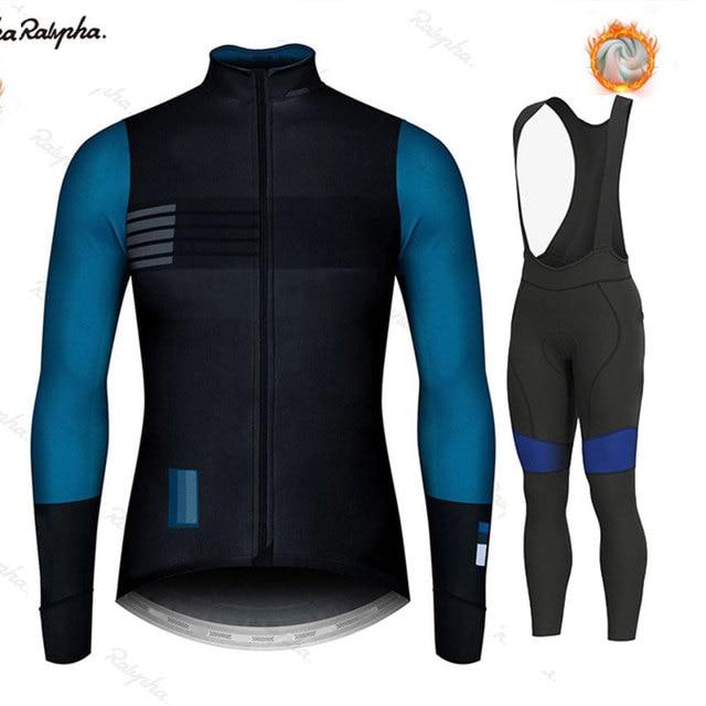 Gobikeful 2021 novo inverno roupas de ciclismo térmica dos homens northwaveful camisa terno equitação ao ar livre bicicleta roupas bib calças conjunto 1