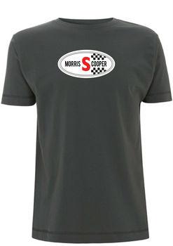 Mk1 camisetas clásicas con emblema de insignia con gorro de cooper mini cooper