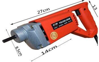 Ferramentas Concretas Estáveis Da Construção Do Motor Do Vibrador Da Tensão De 35mm Simples Segurar 35-1a