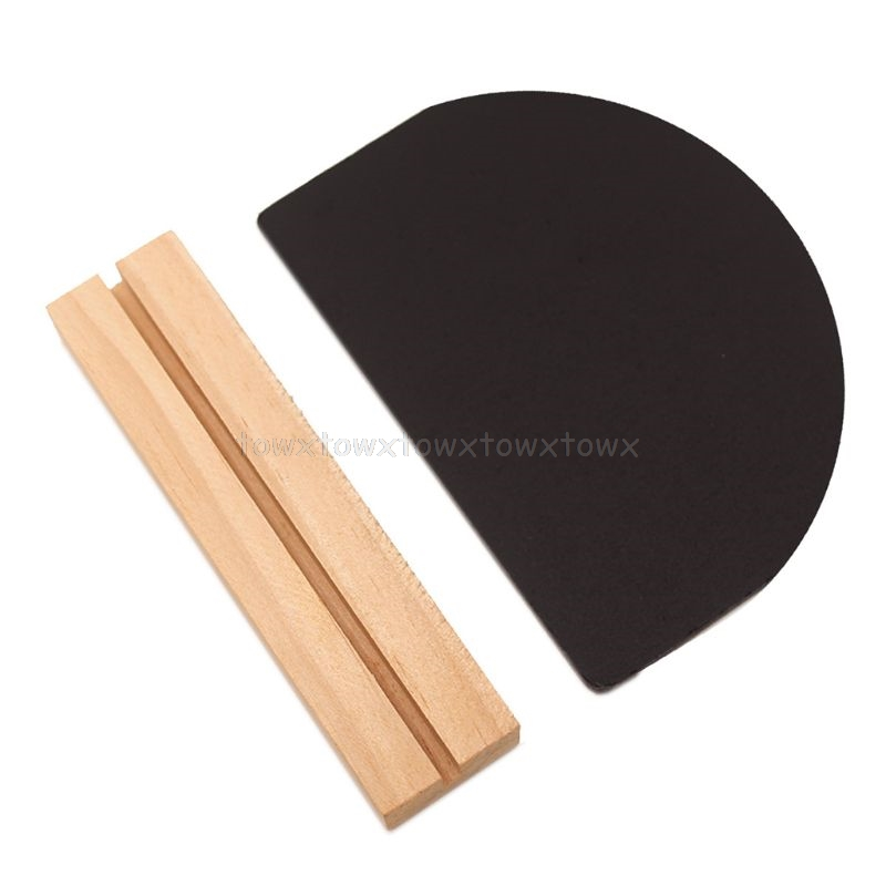 Mini Chalkboard Set Of 4 Mini Blackboard Wooden Paintboard Square Notice Boards Plinth For Arts Message Signs D10 19 Dropship