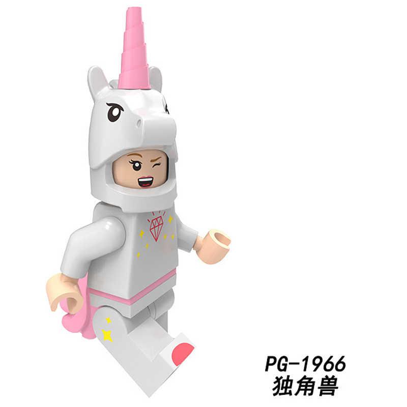 Kuş Fil Inek Pompalama Oyuncaklar Hayvanlar Serisi Tavşan Unicorn Elk Su Samuru Sika Geyik Yapı Taşları fiugres oyuncak çocuk Hediye PG1963