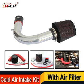 R-EP Cold Air Intake Kit with High Flow Air Filter Fits for V W VOLKSWAGEN Golf 7 Passat Skoda Audi A3 Replacement Aluminum Pipe latest high flow air intake pipe kit with air intake filter for honda fit feng fan 1 3 1 5l civic replacement aluminum pipe
