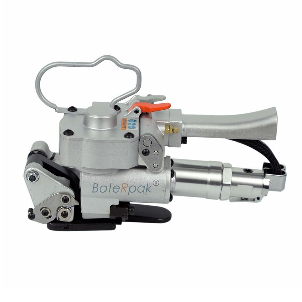 AQD-19/25 Reggiatrici pneumatiche BateRpak in PET, reggiatrice portatile, confezionatrice con impugnatura