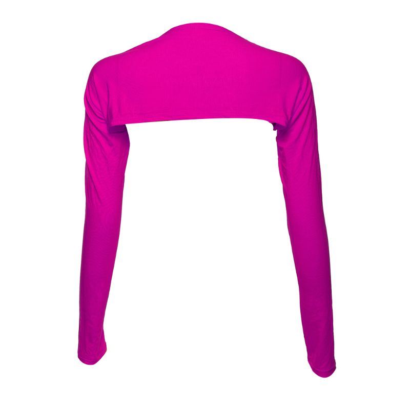 Muslim Women One-Piece Long Sleeve Shawls Arm Cover Sleeves Islamic Clothes Top