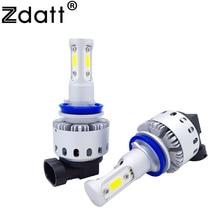 Zdatt Car Light H11 H8 H9 9006 HB4 Led Bulb 90W 12
