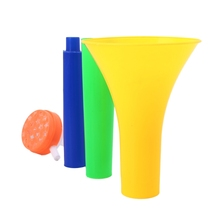 Football Stadium Cheer Fan Horns Soccer Ball Vuvuzela Cheerleading Kid Trumpet W8EE