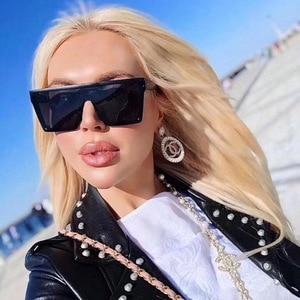 Oversized Square Sunglasses Wo