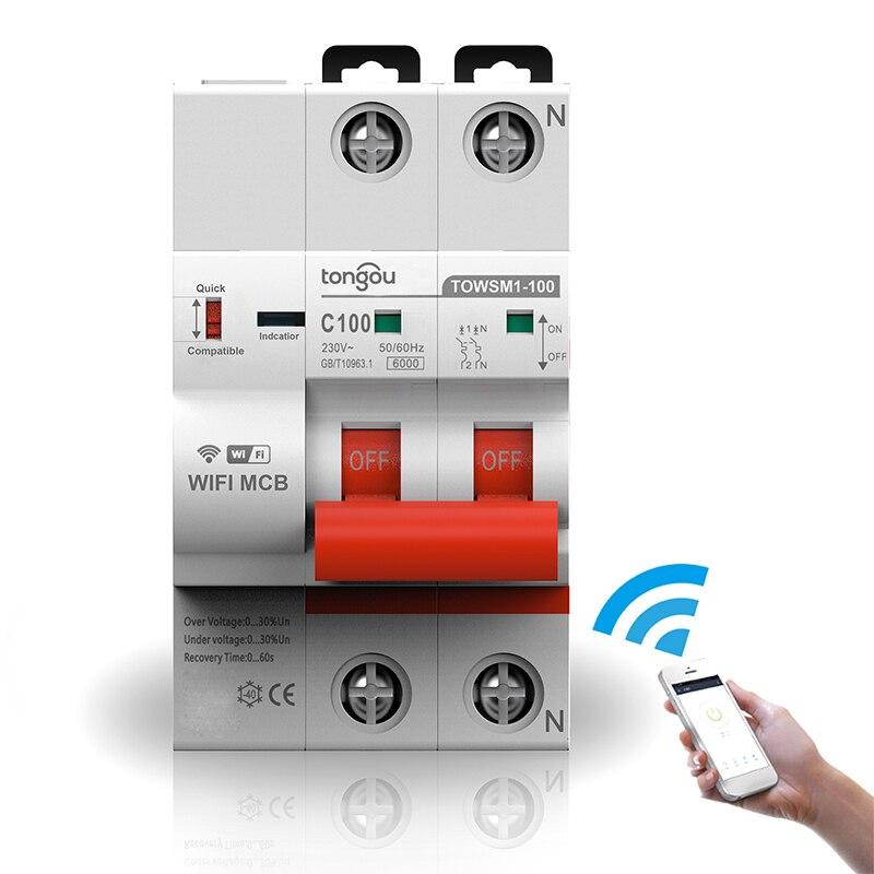 magnetotérmico inteligente wifi