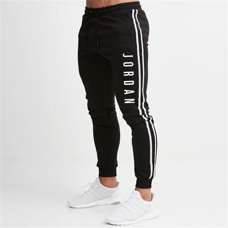2019 Spring And Autumn Men's New Style Slim Fit Stylish Skinny Pants Men's Sports And Leisure Ankle-length Pants Factory Direct