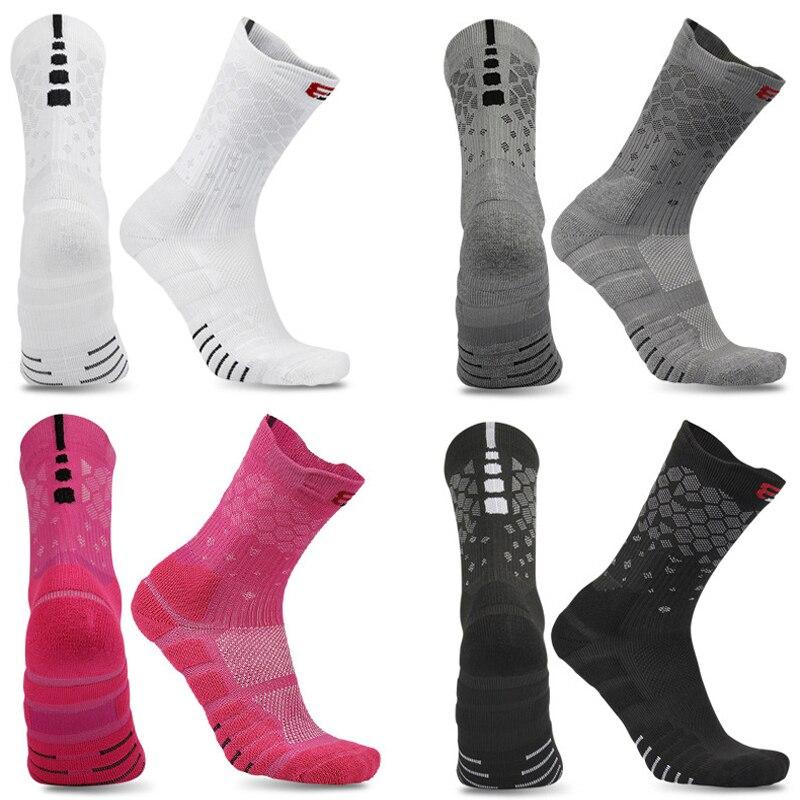 New High Quality Men Thicken Elite Basketball Socks Cycling Women Cotton Towel Bottom Outdoor Sports Socks Men's Running Socks