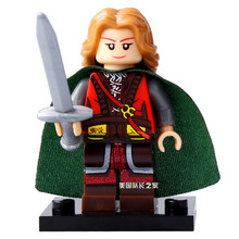 Eowyn Princess Mini Figures The Lord of the Rings Hobbit Rohan Grima Aragorn Boromir minifig DIY Building Blocks Kids Xmas Toy(China)