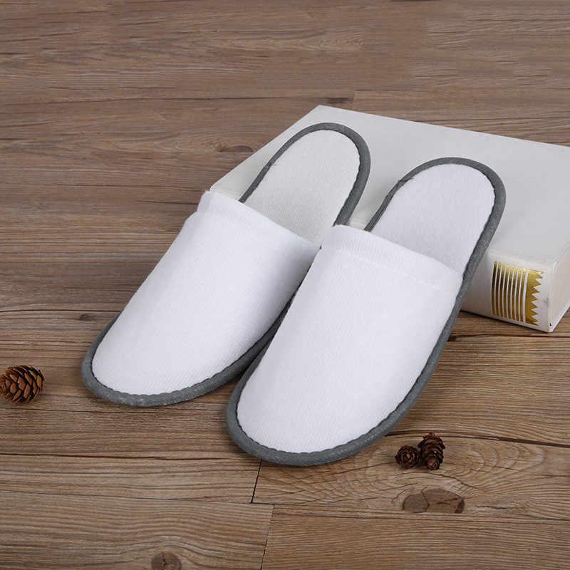 Chinelos simples dos homens das mulheres do hotel viagem spa portátil casa descartável flip flop chinelos não-deslizamento chinelos de mulher de alta qualidade