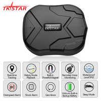 GPS Tracker voiture TKSTAR TK905 5000mAh 90 jours en veille 2G traqueur de véhicule GPS localisateur étanche aimant moniteur vocal application Web gratuite