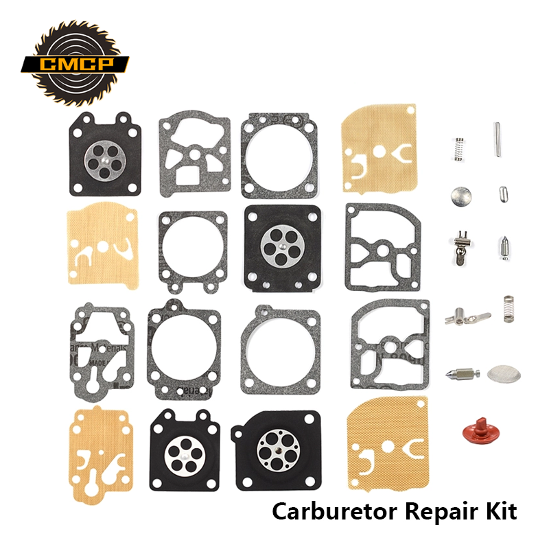 1 Set Carburetor Repair Kit For CG230/330 /430/520 Brush Cutter Chainsaw Repair Kit For 4500 5200 Grass Trimmer Spare Parts Chai