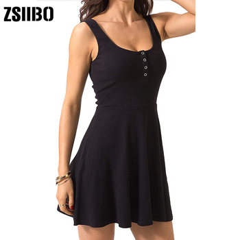 Summer Clothes Bodycon Mini Tank Dress 3