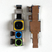 Оригинальный модуль M & Sen для большой задней камеры Xiaomi Mi note 10 + широкоугольный + макросъемный + гибкий кабель для камеры Mi note 10 Pro