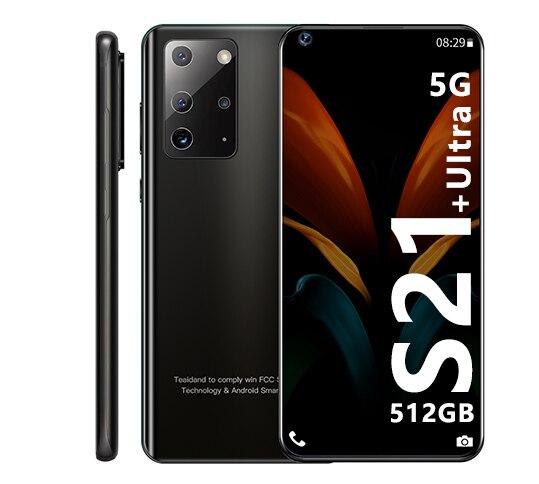 Galay S21 Ultra 7,2 Zoll Smartphone 4G 5G Entsperren 16MP + 32MP 16GB + 512GB 5800mAh handys Telefon Smartphone Globale Version