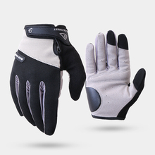Cycling Gloves Fully Finger Anti-Slip Bicycle Riding Gloves Breathable Anti-shock Sports Gloves MTB Bike Bicycle Glove rockbros cycling bike bicycle gloves half finger gel anti shock breathable elastic bicycle gloves mtb motorcycle sports gloves