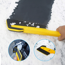 64cm Long Rod Snow Shovel Deicing Manual Car Exterior Handheld Winter Detachable Cleaning Accessories Universal Ice Remove Tool