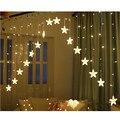 XYXP 3 м 16 СВЕТОДИОДНЫЙ занавес со звездами  гирлянда  светильник s  Рождественская сказочная светодиодная гирлянда  свадебные  домашние вечер...