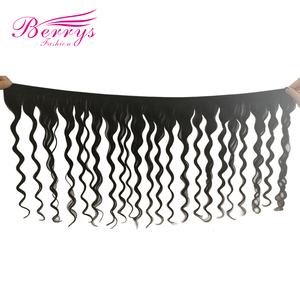 Image 2 - Модные бразильские натуральные волосы Berrys, свободные, глубокие, 4 пряди, 100% необработанные человеческие волосы, плетеные, 10 28 дюймов, натуральный черный цвет