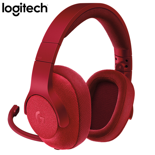 Logitech G433 SURROUND GAMING HEADSET 7.1 3D POSITIONAL AUDIO Surround for All Gamer Wired Headsets with MIC for PC PS4 Xbox VR 3