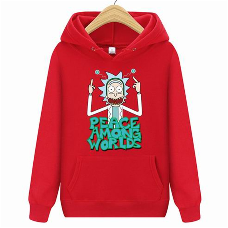 Hot 2020 Autum Design Rick And Morty Mens Hoodies Cotton Funny Print Hoodie Man Fashion Rick Morty Casual Hoodie Sweatshirt