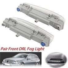2 шт для передней панели DRL Противотуманные светильник подходит для Mercedes-Benz W204 W212 C250 C350 E350 A2049069000