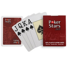 Poker Board-Games Playing-Cards Polish Plastic Waterproof Family Entertainment Dull 1sets