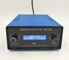 CRI220 yüksek basınçlı enjektör test cihazı dinamik AHE test cihazı CRI230 Bosch Denso Delphi için ve kedi dizel enjektör