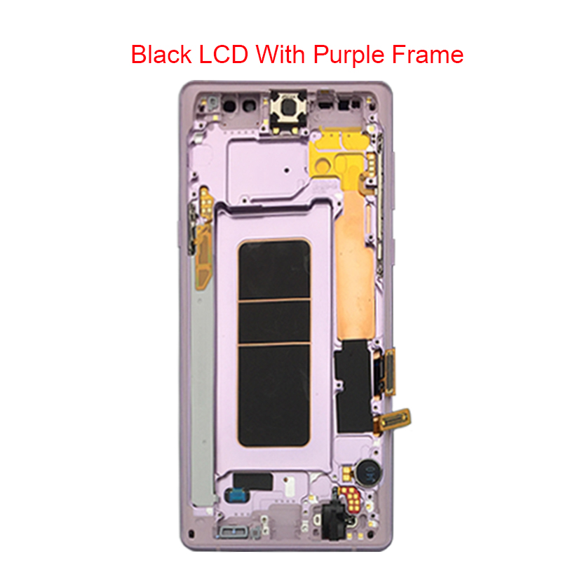Image 5 - For Samsung Galaxy Note 9 Lcd Display Touch Screen Digitizer Assembly For Samsung note 9 n960 N950F N960D N960DS lcd with Frame-in Mobile Phone LCD Screens from Cellphones & Telecommunications