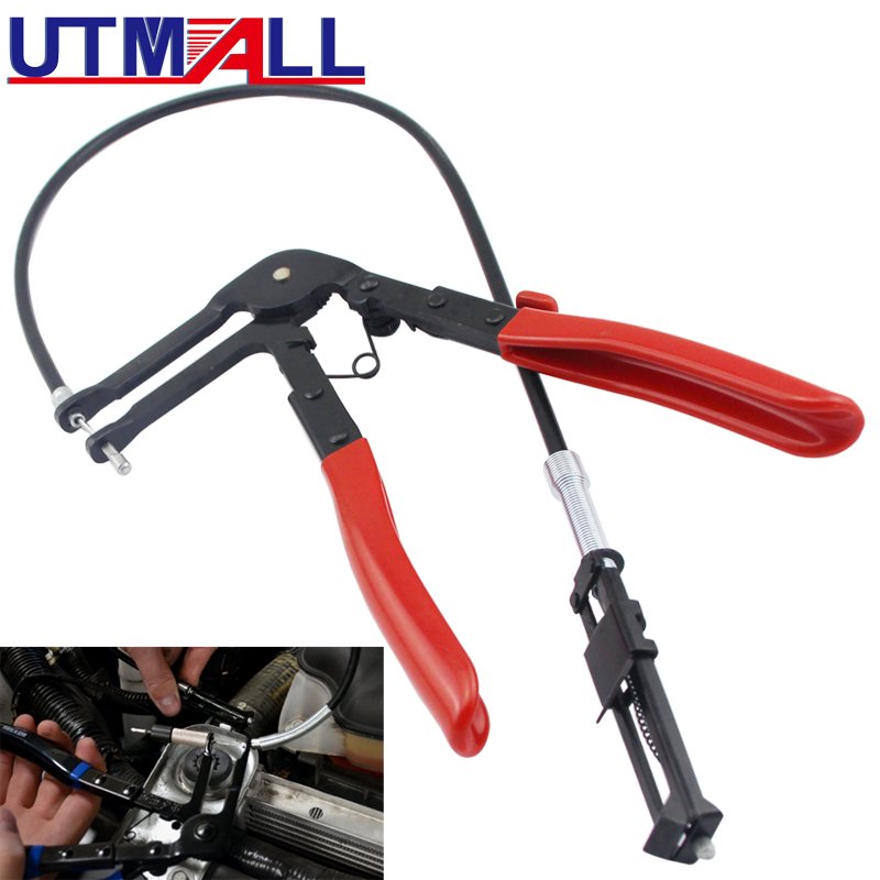 Cable Type Flexible Wire Long Reach Hose Clamp Pliers For Car Repairs Hose Clamp Removal Tool 630mm Wire