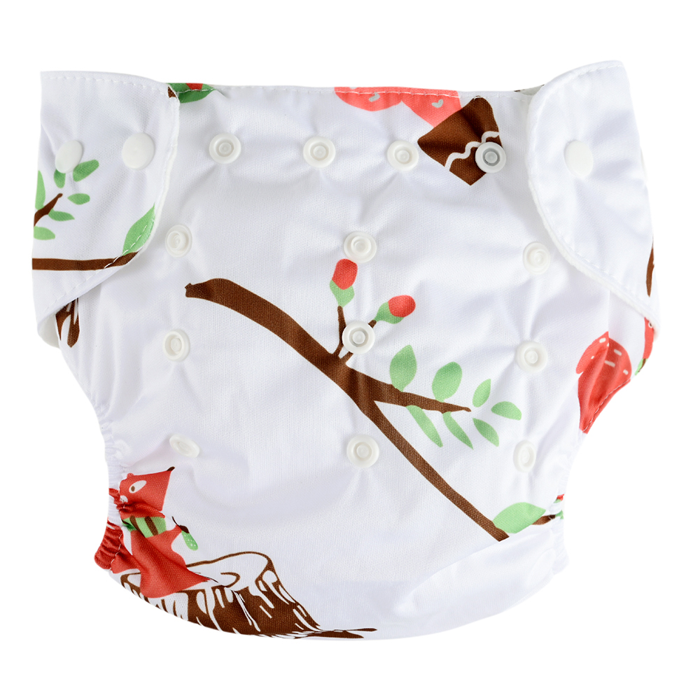 Deep Forest Cotton Reusable Diapers