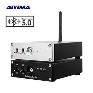 AIYIMA CSR8675 Bluetooth 5.0 APTX HD odbiornik Bluetooth dekoder DAC ES9018 dekodowanie koncentryczne optyczne wyjście Audio 55323 wzmacniacz operacyjny