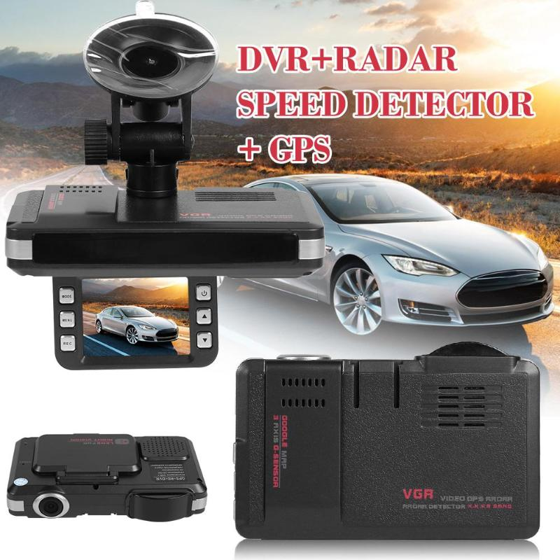 Lens-Recorder Dash-Cam Playback-Radar-Detector Speed-Display Gps-Track VODOOL Car 140