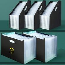 File-Folder Organizer Document-Paper Expanding-Box Desk Office-Stationery Multilayer