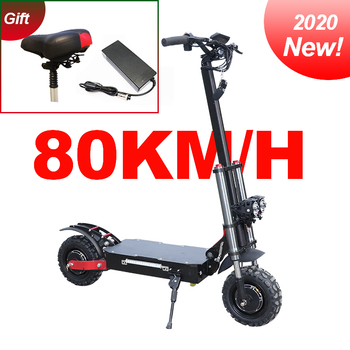 2020 dual motor e-scooter 80km/h high speed 3200W samsung battery 60V 35Ah electric scooter two wheel foldable skateboard high end 105l 500w rubber dual wheel hub in motor for electric scooter skateboard outdoor fun sports