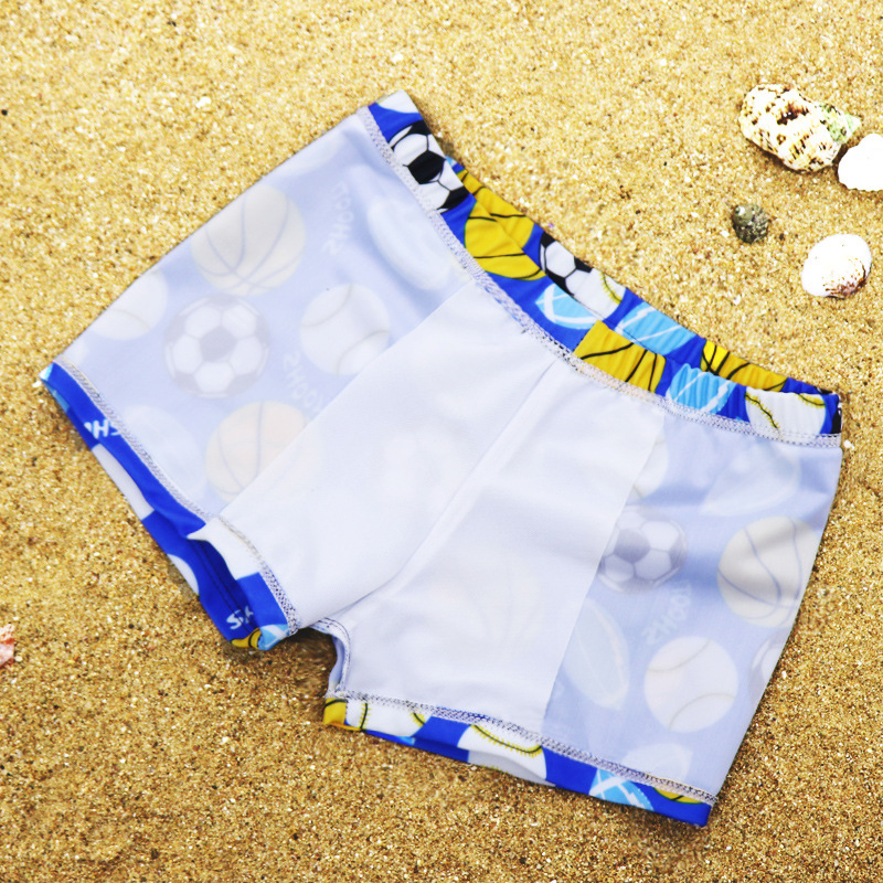 Swimming Pool Children Baby BOY'S Big Boy Swimming Trunks CHILDREN'S Comfortable Boxer Swim Baby Cartoon When