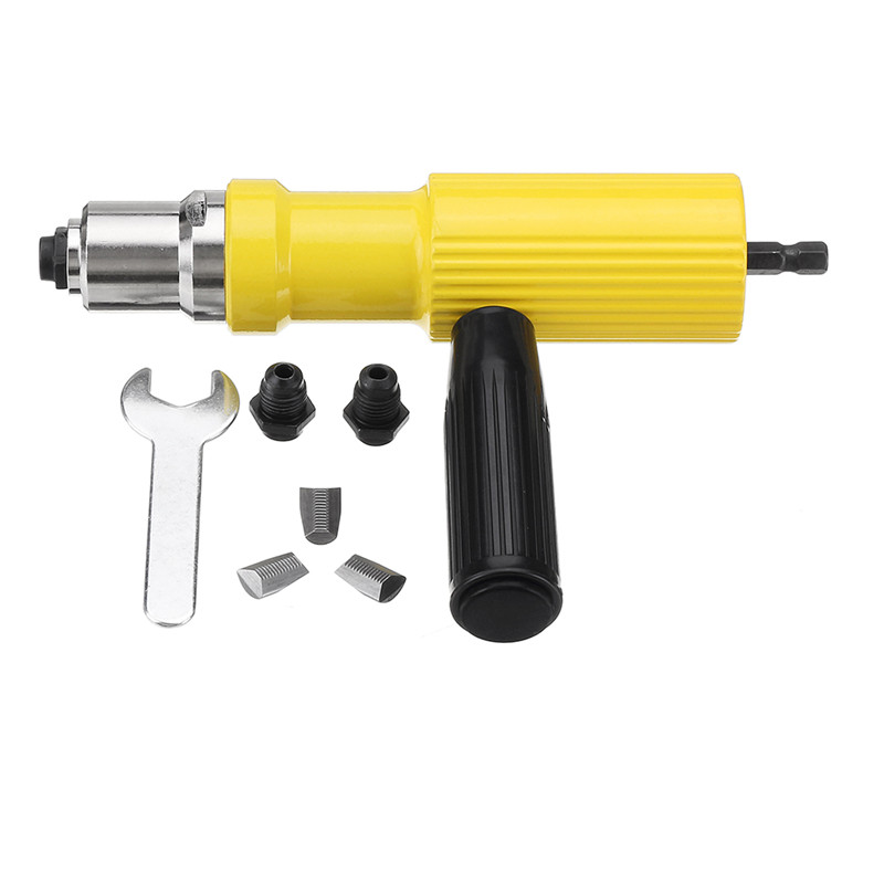 Electric Rivet Nut Guns Riveting Tool Metal Cordless Riveting Drill Adapter Tools
