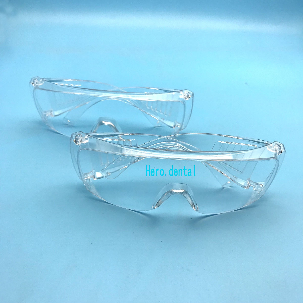 2ps Clear Goggle Glasses Dental Lab Spectacles Safety Glasses Goggles Eye Protective Eyewear Clear UV