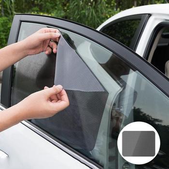 Osłony przeciwsłoneczne do samochodu Film osłona przeciwsłoneczna pokrowiec na forda Focus Fusion EcoSport Kuga Mondeo Everest Transit Custom Tourneo Custom tanie i dobre opinie environmentally friendly PVC+ insulation sunscreen coating Static sticker