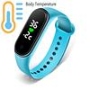 Smart Band Body Temperature Watch Fitness Tracker Bracelet Waterproof For Sport Fitness Bracelet Smart Watch Men Women