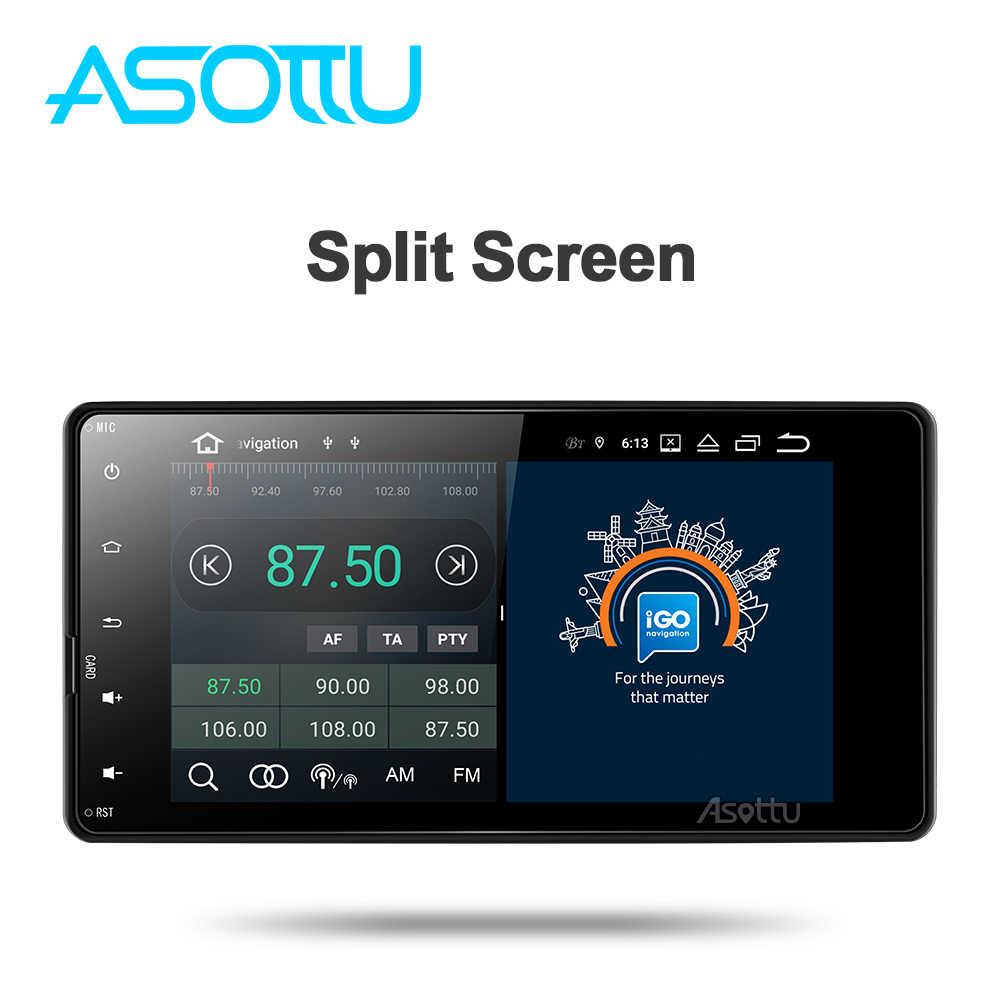 Asottu MI602 Android 9,0 car dvd radio para Mitsubishi outlander 3 asx lancer 2012, 2013, 2014, 2015-2018 auto Radio Multimedia