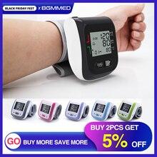 의료 디지털 혈압 모니터 손목 혈압계 자동 혈압계 혈압계 tensiometro