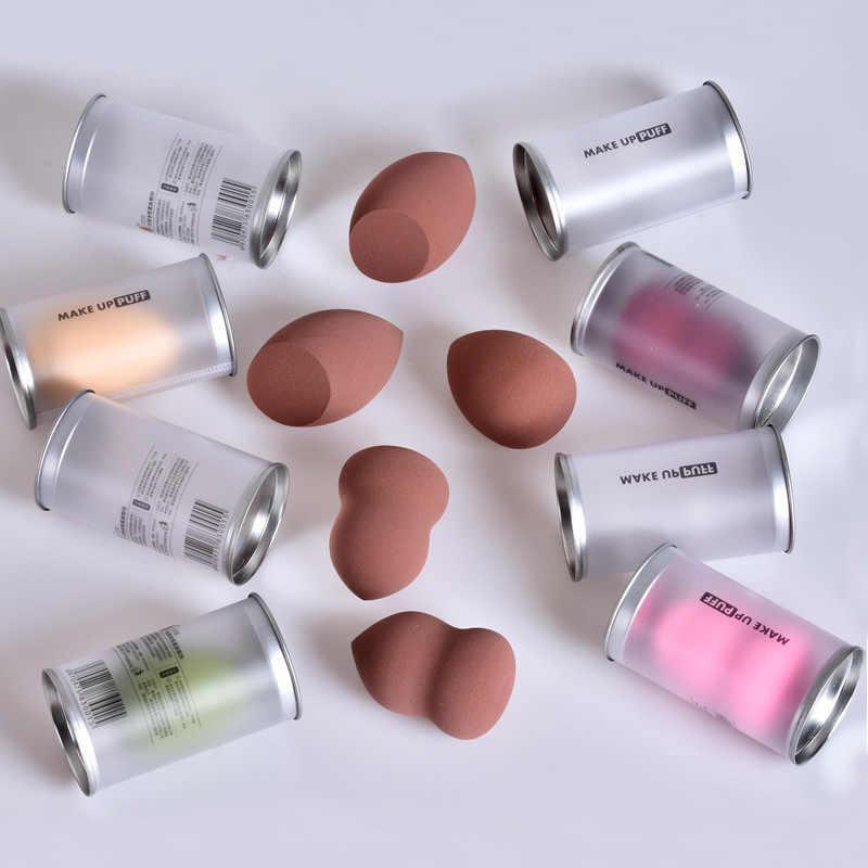 Đầm Bầu Dáng Phồng Làm Đẹp Trứng Thả Hình Bông Phấn Trang Điểm Trứng Trang Điểm Trứng Đệm Bọt Biển Trứng Phồng Đóng Hộp