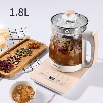 1.8L Glass Automatic Electric Water Kettle Stainless Steel Glass Water Boiler Pot Quick Heating Tea Pot Kitchen Appliance цена 2017